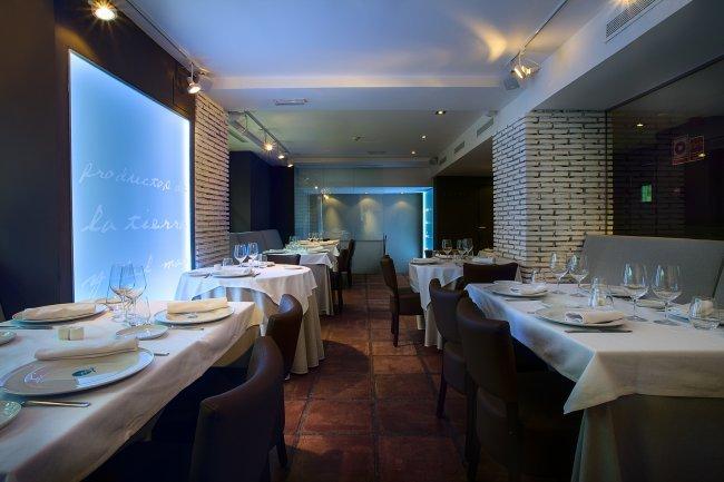 Planta superior, restaurante Materia Prima Madrid