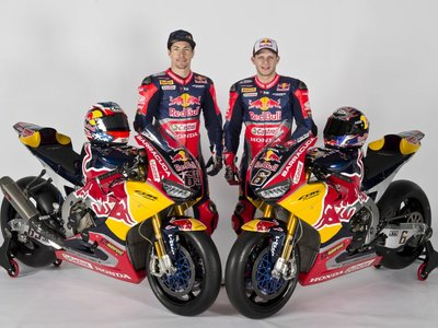 ¡Preciosa! La Honda de Hayden y Bradl para el WSBK es de lo más espectacular que hayas visto en años