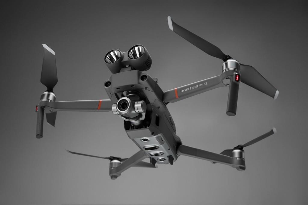 DJI Mavic dos Enterprise: un drone ahorita con capacidades para busca y rescate dirigido a compañías y gobiernos