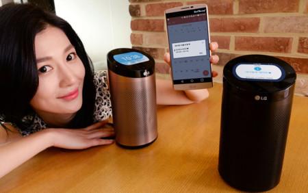 SmartThinQ es el cerebro para el hogar conectado de LG, se manifiesta en forma de cilindro