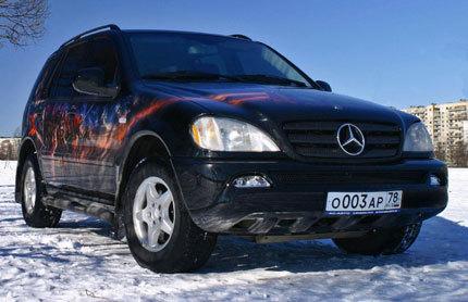 Epic Mercedes ML