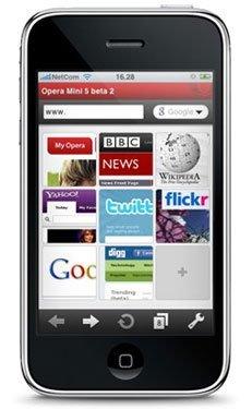 Opera para iPhone, 2.6 millones de usuarios en dos semanas
