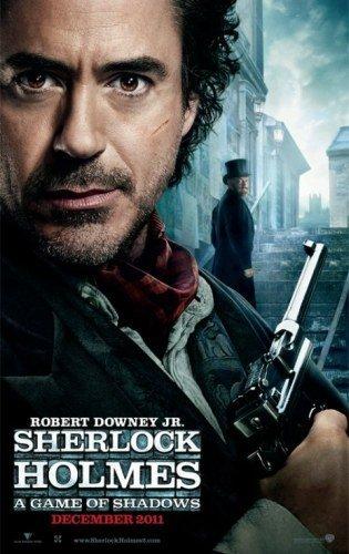 'Sherlock Holmes: A Game of Shadows', primeros carteles