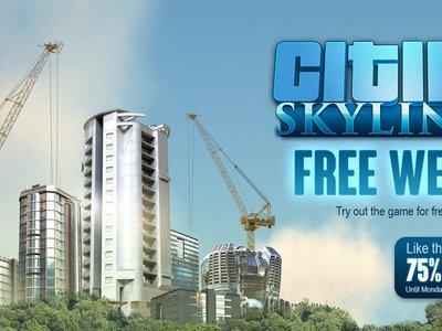 Cities: Skylines se juega gratis en Steam desde hoy y hasta el próximo domingo