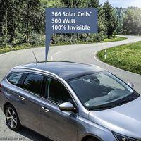No lo ves, pero este revolucionario techo solar promete 10 km de autonomía extra para los coches eléctricos