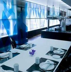 La Mesa del Chef en el restaurant Arola