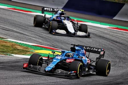 Alonso Latifi Austria F1 2021