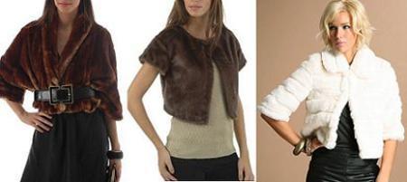 Prendas de abrigo para los looks de fiesta