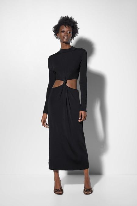 Vestido Negro Zara 3
