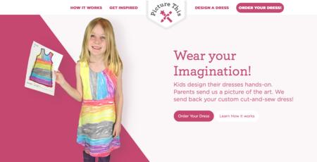 Esta web permite a los niños diseñar y recibir su propia ropa