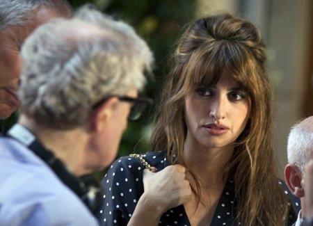 Penélope Cruz saca su lado sexy en el rodaje de 'Bop Decameron', la última película de Woody Allen