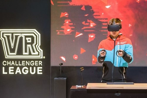 La liga VR que intentó hacerse un hueco en el mayor evento de deportes electrónicos de Europa