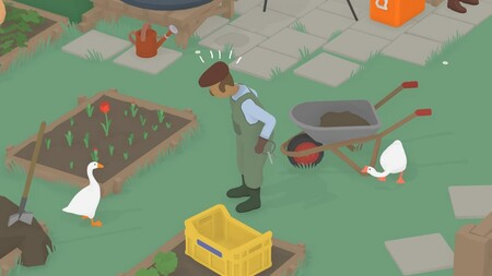 Untitled Goose Game ya permite que cometamos el doble de fechorías con un amigo gracias a su nuevo modo cooperativo