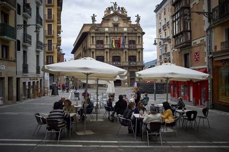Terraza Covid Pamplona