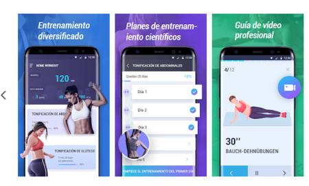 aplicaciones para hacer ejercicio iphone