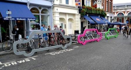 Una forma original de promocionar las bicicletas