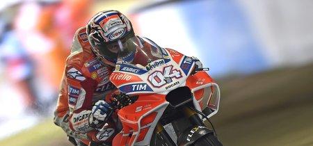 Andrea Dovizioso derrota a Marc Márquez en un duelo épico bajo el aguacero japonés