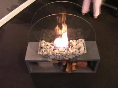 Fuego sin humo en tu salón