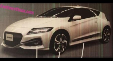 ¡Filtrado! Así es el nuevo Honda CR-Z, un paso más cerca al diseño del NSX