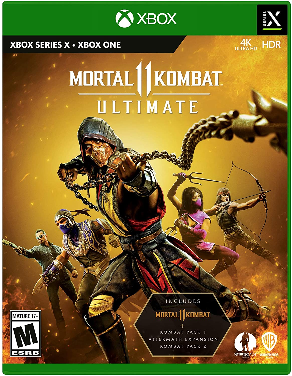 Mortal Kombat 11 Ultimate para Xbox One y Xbox Series X.