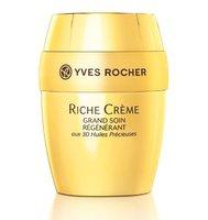 Yves Rocher viste de dorado su Riche Crème Collector Edition, tratamiento nutritivo anti-edad. La probamos