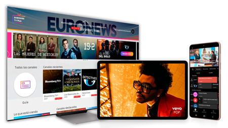 Televisión gratis para móviles Galaxy: Samsung TV Plus ya disponible en España