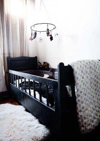 Hermosa Bebé Negro Cunas Muebles Imagen - Muebles Para Ideas de ...