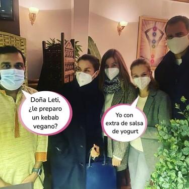 Así celebró la Reina Letizia sus 49 tacos: el restaurante indio donde Sofía y Don Felipe se pusieron las botas