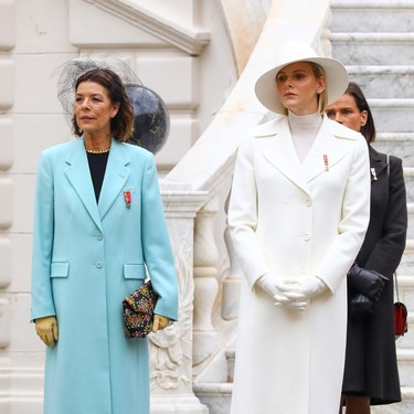 Carolina de Mónaco luce un elegante collar que perteneció a su madre, Grace Kelly