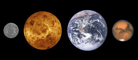 Terrestrial Planet Sizes