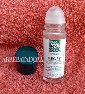 Desodorante Keops de Roc, eficacia probada en un roll-on
