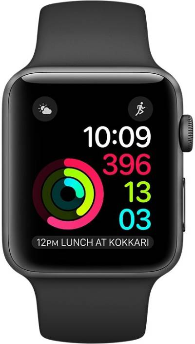 Apple Watch SERIES 1, 42mm, Caja de aluminio