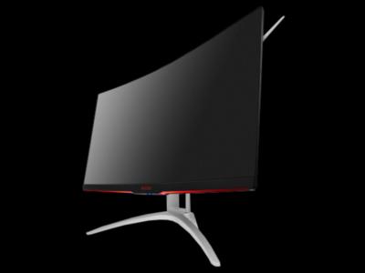 AOC ya tiene en España un nuevo monitor gaming, el AGON AG322QCX, un panel curvo con resolución QHD