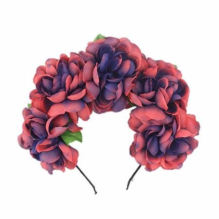 Diadema Flores Catrina 2