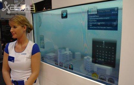 Monitor transparente, solar y en alta definición de Samsung