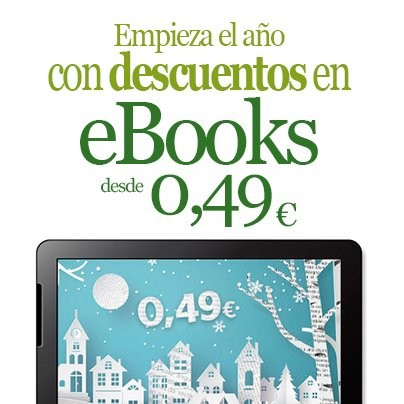 Empieza el año con descuentos: Ebooks desde 0,49 euros en La Casa del Libro