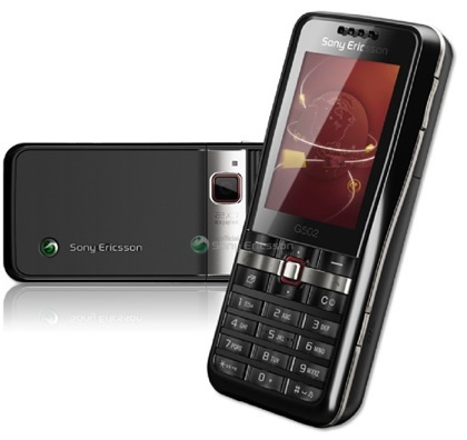 Sony Ericsson G502 casi listo