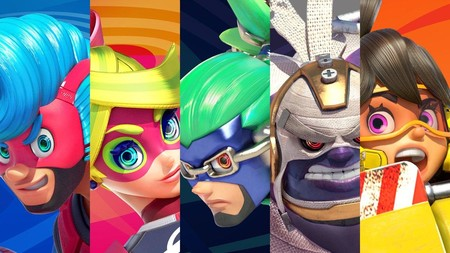 Arms Personajes