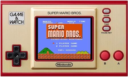 Game and Watch Super Mario Bros disponible para compra en México con descuento