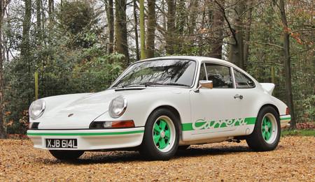 Este precioso Porsche 911 Carrera RS 2.7 de 1973, a subasta por entre 375.000 y 420.000 euros