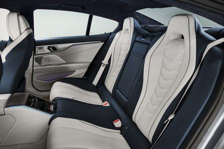 BMW Serie 8 Gran Coupe plazas posteriores