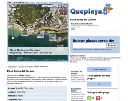 Queplaya.es, conociendo las playas más cercanas a nosotros