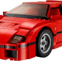 Estás a sólo un mes de poder disfrutar tu Ferrari F40... de LEGO