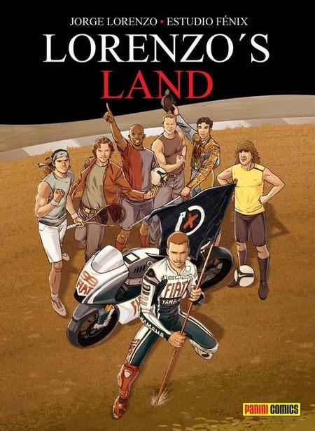 Jorge Lorenzo gana el Mundial 2010... ¡en su cómic!