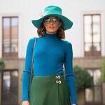 Nieves Álvarez tiene la falda más estilosa del otoño