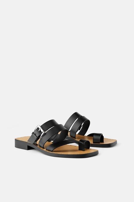 Sandalia Plana Zara 2019 01