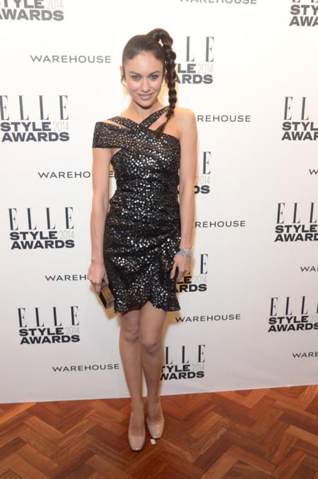 Olga Kurylenko Isabel Marant Primavera/Verano 2014 Elle Style Awards 2014 red carpet