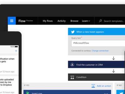 Microsoft Flow, el enésimo intento de Microsoft de crear su IFTTT, ya tiene aplicación para Android