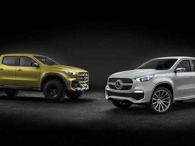 Video: Ya puedes ver el primer teaser de la nueva Mercedes-Benz Clase X antes de su lanzamiento oficial