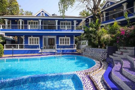 Airbnb Classic Blue Villa Campestre En Siolim India 2